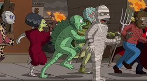 The Simpsons Universal Monsters 02