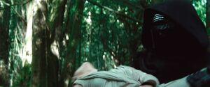 Kylo carries Rey