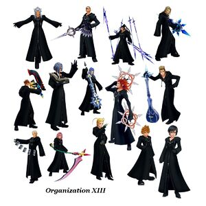 Members of the Organization XIII