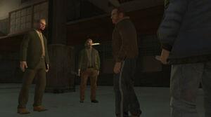 Ray and Dimitri ambush Niko