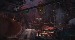 The Flushed Pets' Lair