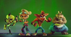 Crash Bandicoot 4 i t's About Time A Hole in Space