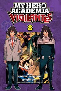 My Hero Academia Vigilantes Manga Volume 8 Cover