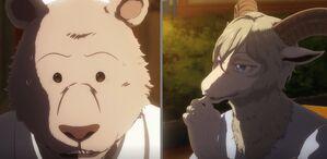 Riz and Pina anime 01