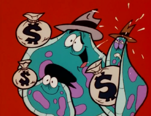The Amoeba Boys Stole the Money
