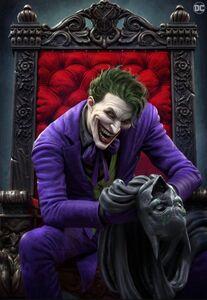 The Joker Vol 2 1 Exclusive Scorpion Comics Textless Variant A
