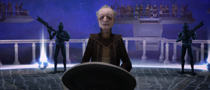 Chancellor Palpatine momentus