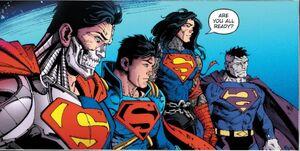 Dark Nights Death Metal Vol 1 5 Supermans