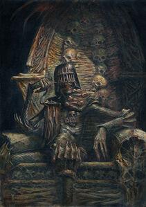 Judge-Death on his throne
