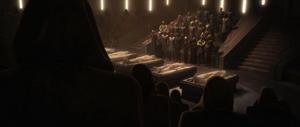 Palpatine Jedi funeral