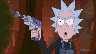 Rick Kills The Council Of Rick's - Rick And Morty Season 3 CLIP