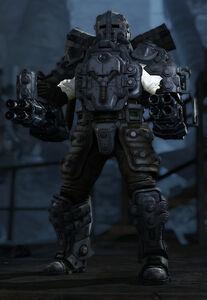 Armored Rudi