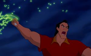 Gaston gathering a lynch mob