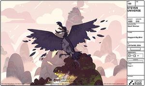 Giant bird
