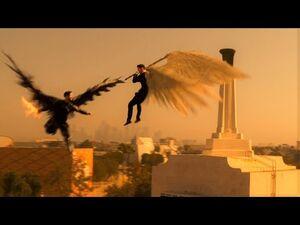 Lucifer 5x16 -- Michael vs Lucifer full fight