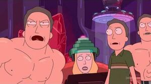 Rick and Morty Jerry Clones