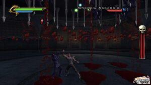 Taven defeats the Shadow Assassins
