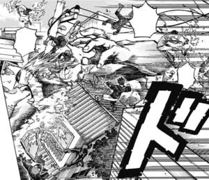 Gigantomachia rampages through Deika City