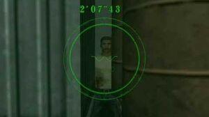 Resident Evil Code Veronica - Rodrigo hiding in Battle Mode