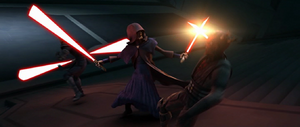 Sidious duels