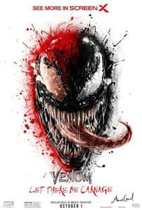 Venom Let There Be Carnage ScreenX poster
