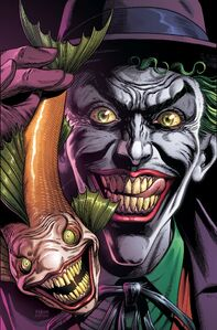 Batman Three Jokers Vol 1 1 Textless Joker Fish Variant