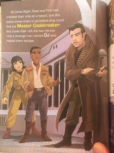 The Last Jedi Little Golden Book - Finn and Rose meet DJ