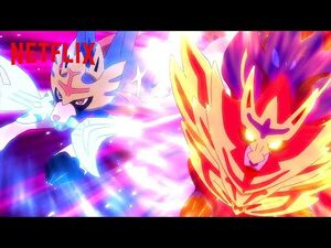 Zacian🗡 + Zamazenta🛡 vs Eternatus - Pokémon Journeys- The Series - Netflix Futures