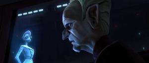 Chancellor Palpatine Boll hologram