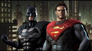 Injustice Gods Among Us All Cutscenes HD GAME - Justice League