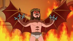 Jesus With Death Blades