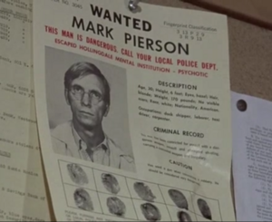 Wanted sign for Mark