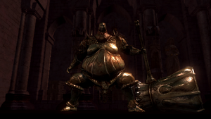 Executioner Smough Guarding