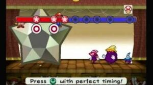 Paper Mario; The Thousand Year Door- Shadow Sirens (1st Fight)