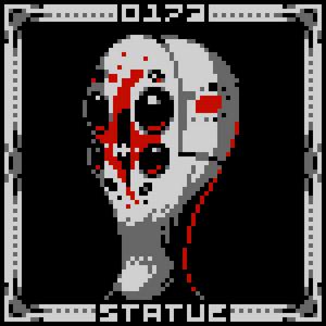 Scp-173 pixelated