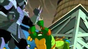 TMNT 2003 Shredder First Fights