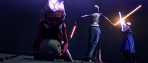 Ventress Skywalker tunnel