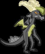 Gray teen dragon vector by thesharp0ne-d509qp9