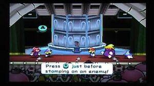 Paper Mario 2 - 2nd Shadow Sirens Battle