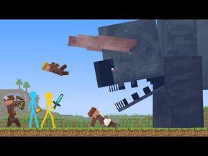 Titan Ravager - Animation vs