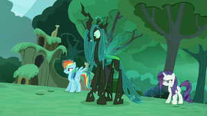 Chrysalis 'You're vastly outnumbered ' S5E26