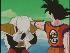 Goku vs Jeice and Burter! Kiai Ho! -Japanese Episode 67-