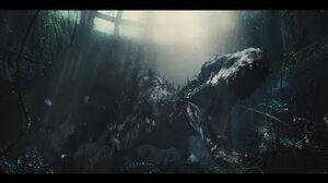 Jurassic World - Indominus rex Attacks Owen and Claire (1080p)