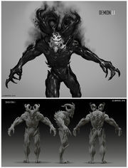 Mister Negative from MSM concept art
