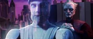Palpatine Kenobi hologram
