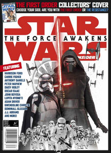 Star Wars Insider TFA First Order Cover