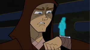 Anakin Skywalker communicator hologram