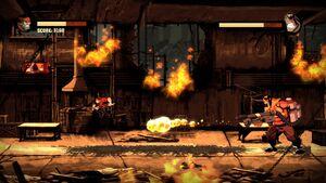 Inferno Using Flamethrower 3