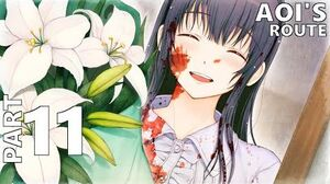 YOU and ME and HER A Love Story Full Playthrough Aoi's Route Part 11 Ending