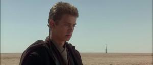 Anakin Skywalker mourns